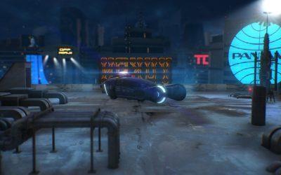 Element 3D Blade Runner Scene
